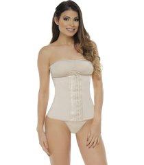 fajas mujer cinturilla con neolatex body line control 4001 - piel
