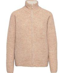 kaizen zip knit gebreide trui cardigan goud fall winter spring summer