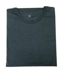 camiseta lisa masculina adulto chumbo