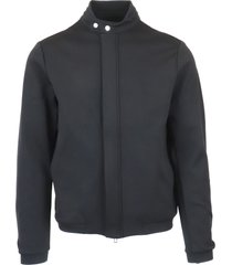 emporio armani man jersey blouson jkt jacket