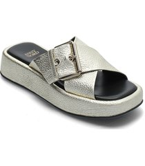 detox shoes summer shoes flat sandals silver anny nord