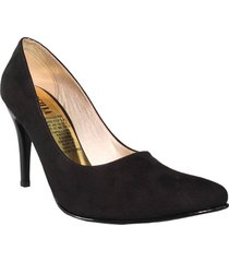 tacones stilettos negro wanted splendid