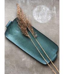ceramiczny talerz longlong turquoise