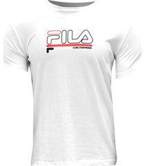 chaqueta camisetas manga corta fila fila hombre flh49-ts013 blanco
