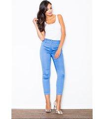 spodnie valentia m109 niebieskie