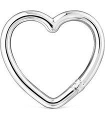 anilla mediana hold corazón de plata plateado tous