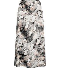 barangz skirt ye19 knälång kjol multi/mönstrad gestuz