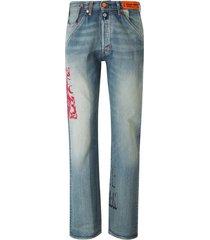 levi's 501 heron jeans