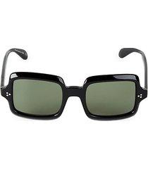 avri 50mm square sunglasses
