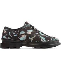 camper brutus, sneaker uomo, nero/blu/rosa, misura 46 (eu), k100294-001