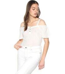 blusa blanco vero moda