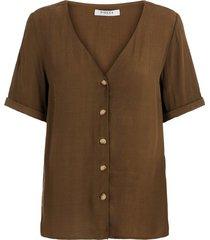 blouse knoopsluiting viscose
