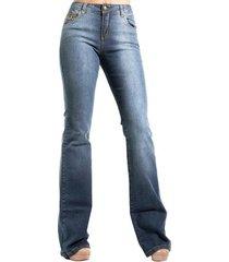 calça jeans boot cut estonada alphorria