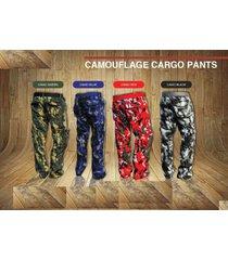 premium camouflage cargo pants