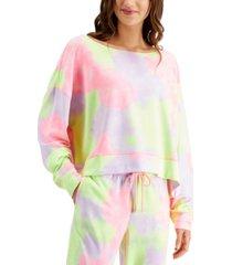 jenni plus size super soft crew sleep top, created for macy's