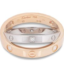 cartier love small wedding-band - silver