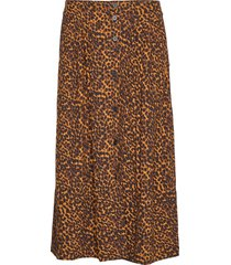 coca skirt knälång kjol brun just female