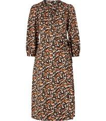 omlottklänning vmcambria 7/8 wrap calf dress