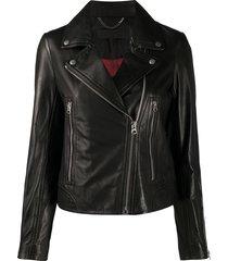 rag & bone biker jacket - black