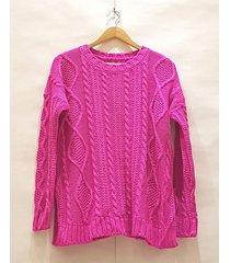 sweater violeta pink sisly
