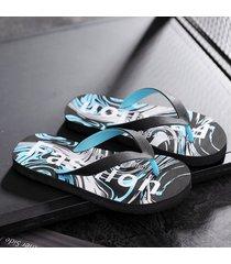 sandalias de playa transpirable flip flop para hombres