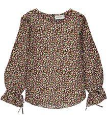 terracotta long sleeved top