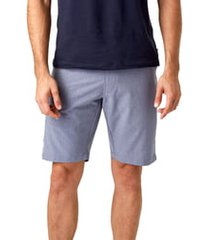 men's 7 diamonds aeroplane slim fit hybrid shorts, size 40 - grey