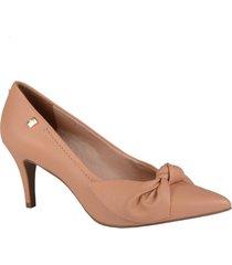 zapato tacon formales de color rosa para mujer material cuero marca loucos & santos loucos & santos - rosa