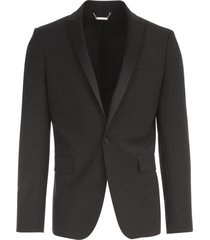 les hommes jacket w/swarovsky and rivier