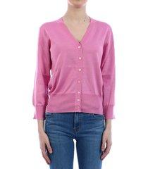 dolce & gabbana silk cardigan pink