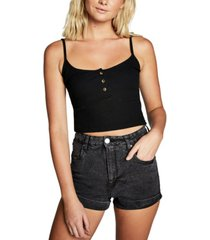 cotton on high rise classic stretch denim shorts