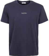 valentino t-shirt jersey regular print vltn