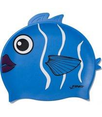 gorro silicona animales pez coral finis usa - azul