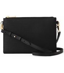 dagne dover essentials coated canvas clutch/wallet -