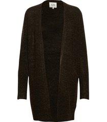 brook knit cape stickad tröja cardigan grön second female