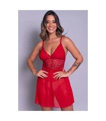camisola bella fiore modas sexy sem bojo joana vermelho