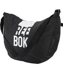 bolso lifestyle reebok w found tote - negro