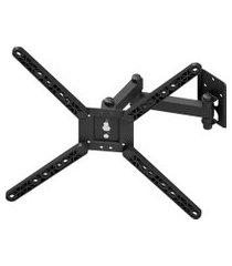 suporte de parede para tv 10 a 55 pol avatron are2-730t triarticulado preto