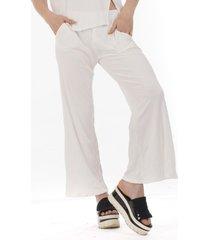 pantalón natural al aniz