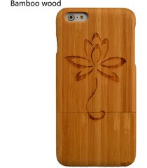 new natural wood phone case for iphone 7 6 6s plus wooden tattoo engraved cover
