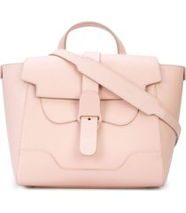 senreve midi maestra shoulder bag - pink