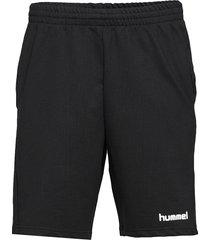 hmlgo cotton bermuda shorts shorts casual svart hummel