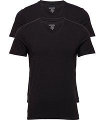 jbs 2-pack v-neck bamboo t-shirts short-sleeved svart jbs