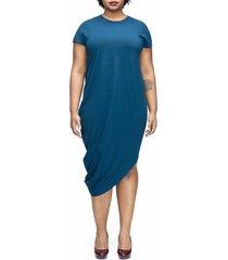 women's universal standard geneva dress, size 2xs (6-8) - blue