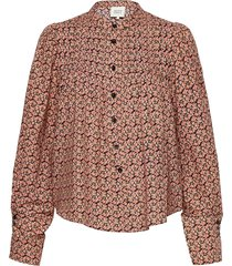 prado shirt blouse lange mouwen bruin second female