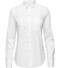 classic stretch shirt overhemd met lange mouwen wit filippa k