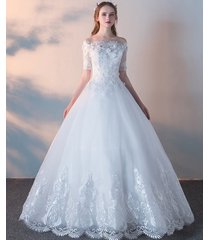 new lace wedding dress any size custom made bohemian bead bridal princess gown
