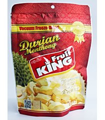 fruit king snack dried durian monthong thailand healthy kosher halal 30 g