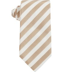 boss men's light beige tie