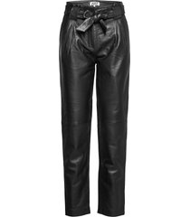 sago leather trousers leather leggings/byxor svart just female